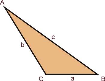 Triángulo Obtusángulo - Matematicas Modernas
