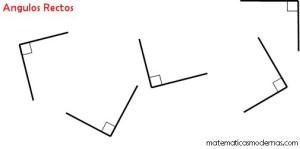 angulos rectos matematicas modernas