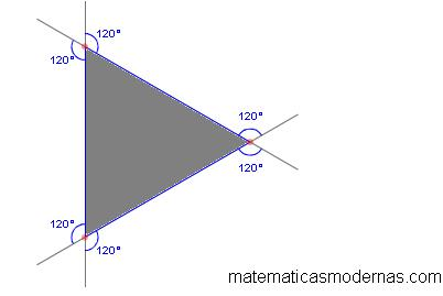 Angulos Externos Matematicas Modernas