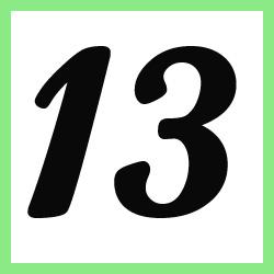 Múltiplos de 13