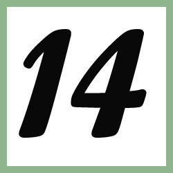Múltiplos de 14