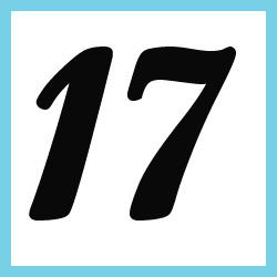 Múltiplos de 17