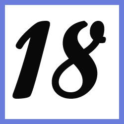 Múltiplos de 18