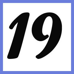 Múltiplos de 19