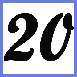 Múltiplos de 20