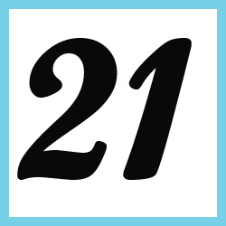 Múltiplos de 21