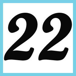 Múltiplos de 22