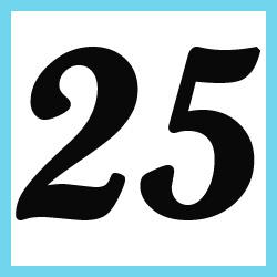 25 en nmeros - photo #5