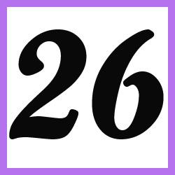 Múltiplos de 26