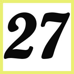 Múltiplos de 27