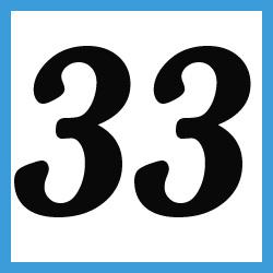 Múltiplos de 33
