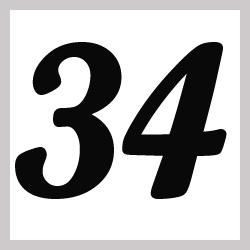 Múltiplos de 34