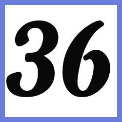 Múltiplos de 36