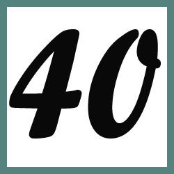 Múltiplos de 40
