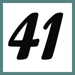 Múltiplos de 41