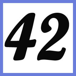 Múltiplos de 42