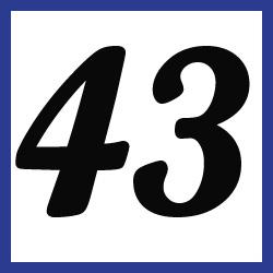 Múltiplos de 43