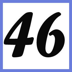 Múltiplos de 46