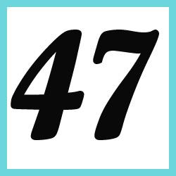 Múltiplos de 47