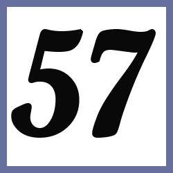 Múltiplos de 57