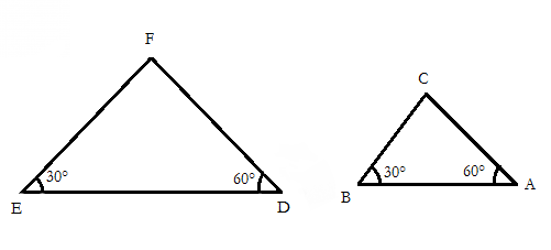 Tri ngulos semejantes matematicas modernas for Puerta que abre para los dos lados