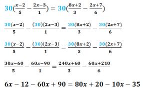 Ejemplo7 cómo resolver ecuaciones con fracciones