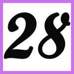 Múltiplos de 28