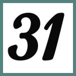 Múltiplos de 31