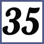 Múltiplos de 35