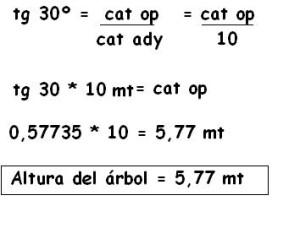 2 problemas trigonometria