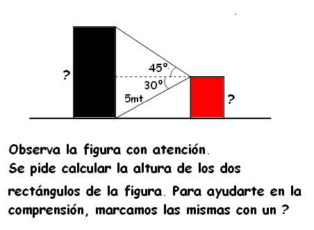 Problemas resueltos aplicando trigonometría | Matemáticas modernas