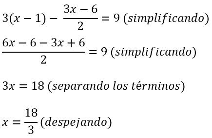 Ecuaciones De Primer Grado Resueltas Matematicas Modernas