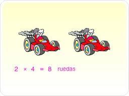 multiplicación carros
