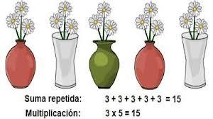 multiplicación flores