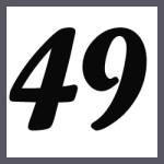 Múltiplos de 49