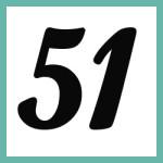 Múltiplos de 51