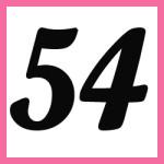 Múltiplos de 54