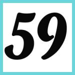 Múltiplos de 59