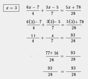 verificacion ecuacion lineal compleja