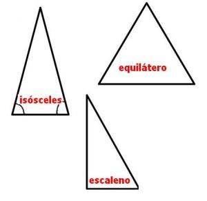 clasificacion triángulos segun sus lados