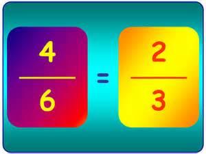 simplificacion fracciones