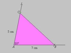 2do caso construccion de triangulos