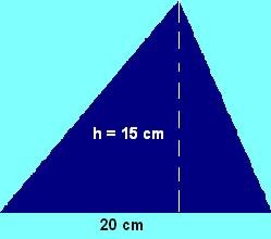 area triangulo