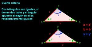 cuartocriterio igualdad de triangulos