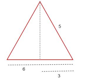 Fórmula de área de un triángulo 4