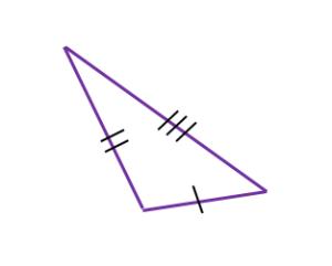 fórmula de triángulo es