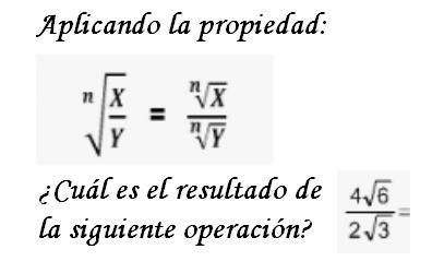 Ejercicio Test Sobre Potenciación Y Radicación Matemáticas Modernas