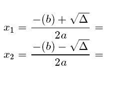 formula baskara