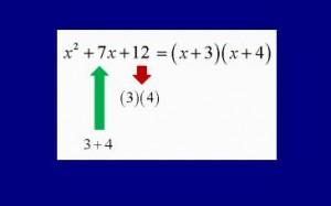 factorizacion trinomio cuadratico
